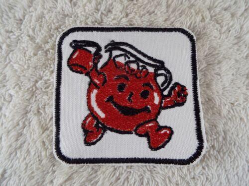 "E13 KOOL-AID 3-5//8/"" Embroidery Iron-on Patch"