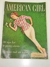 American Girl Magazine- 10 Tips For a Pretty Room- May 1961