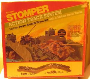 1984-Schaper-Stomper-Mobile-Force-Assault-Team-Set-694-Action-Track-System