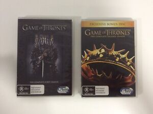 Game-of-Thrones-Seasons-1-2-11-Disc-Set-R4-Excellent-Condition