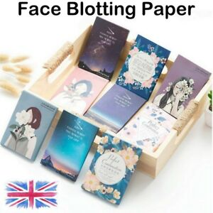 50-Sheets-Face-Absorption-Oil-Film-Tissues-Makeup-Control-Blotting-Papers-UK