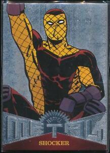 2017-Fleer-Ultra-Spider-Man-Marvel-Metal-Trading-Card-MM2-Shocker