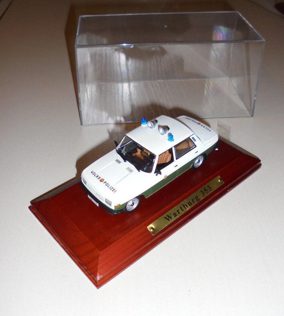 RDA modèle Wartburg 353 Limousine VP populaire Police 1 43 Atlas 138