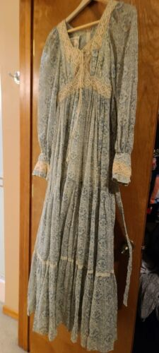 vintage gunne sax prairie dress Size 7 - image 1