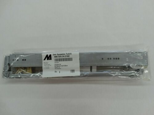 X 525 mm Under Mount Drawer Slide Alfit Uni Dynamic Full Mepla
