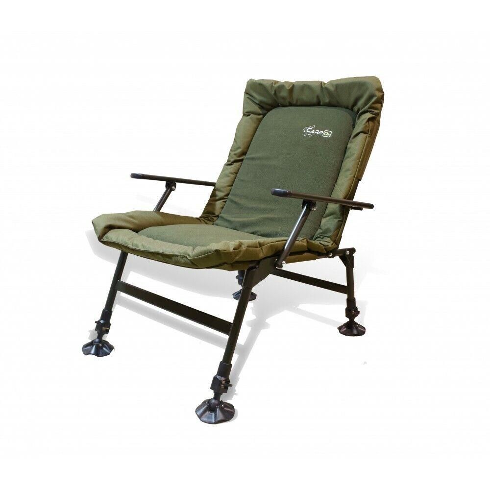 Carpon sedia SOFT iifh carpa sedia Angel sedia BRACCIOLI fino a 130kg Sedia da campeggio