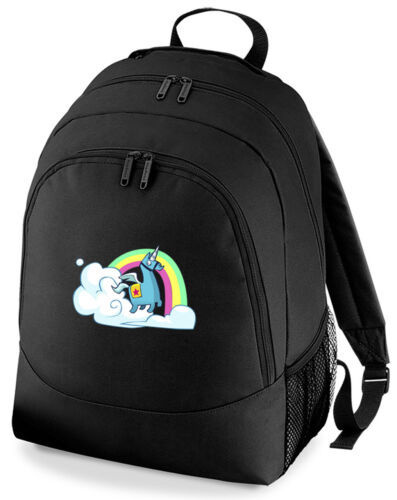 Gaming  Llama Rainbow Rucksack Bag