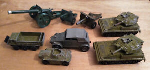 Dinky-Britains-Crescent-Diecast-Military-Toys-Job-Lot