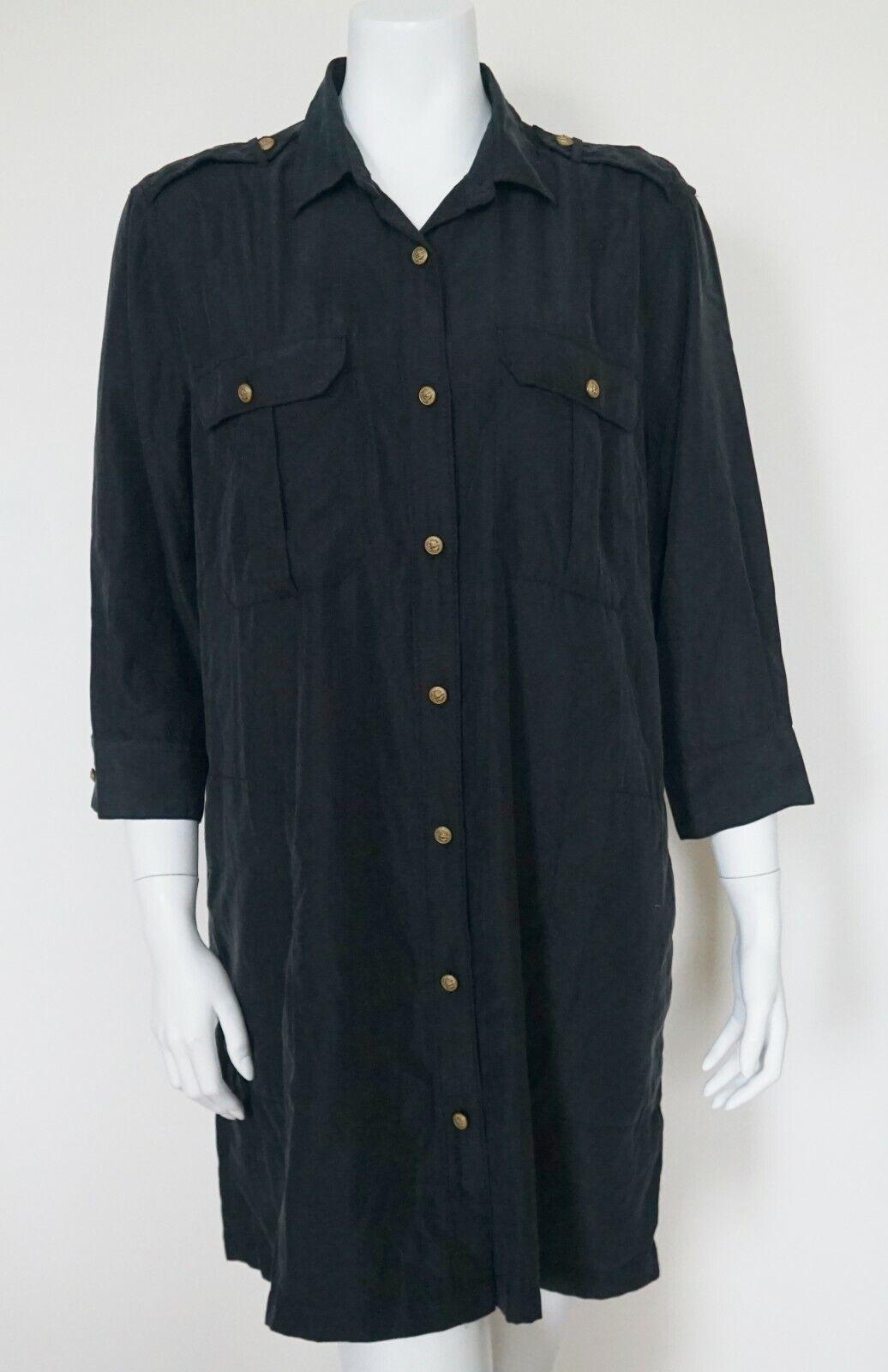 RALPH LAUREN DENIM & SUPPLY Navy Tunic Shirt Top Blouse XL