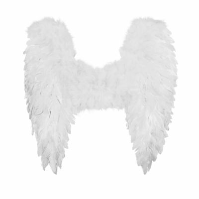 Deluxe Angel Wings White Large Costume Cosplay Kids Adult Christmas Nativity New