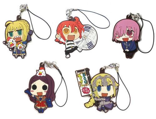 Fate Grand Order Lawson Caster Da Vinci Riyo Character Rubber Strap Mascot Anime