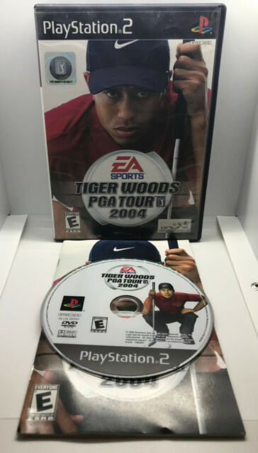 Tiger Woods PGA Tour 2004 - Golf - Complete - Tested & Works - Playstation 2 PS2