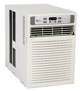 lg lw1013cr 9 500 btu window casement air conditioner 115v remote 450 sq ft ebay. Black Bedroom Furniture Sets. Home Design Ideas