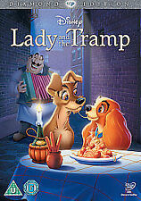 LADY AND THE TRAMP DISNEY DVD - DIAMOND EDITION - BRAND NEW AND SEALED - UK