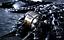 Anello-Massiccio-Fascia-Incisione-Uomo-Donna-Unisex-Acciaio-Inox-Teschio-Skull miniatura 3