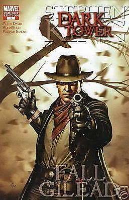 1:25 variant DARK TOWER fall of GILEAD #1 STEPHEN KING MARVEL COMIC 1st print
