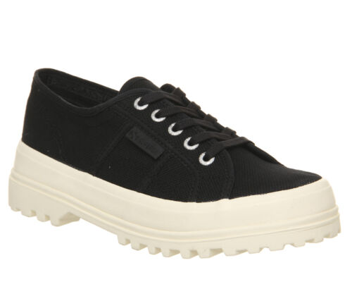 Shoes Off Trainers Black 2555 White Superga Womens Exclusive vqBCnAwx