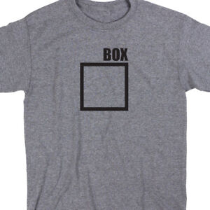 abb099ec6c Outside The Box T Shirt Novelty Humor Tee Gift Meme Funny Cute | eBay
