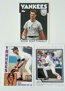 Carte de Baseball Topps - Don Mattingly (3) - New York Yankees