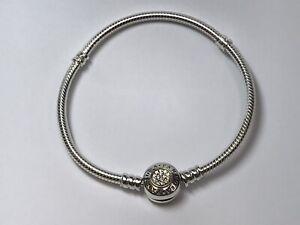 Mini Heart Tag Bracelet Enamel 925 Solid Sterling Silver 18cm