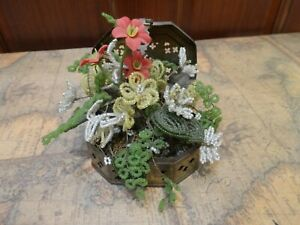 vintage-3-5-034-high-glass-seed-beaded-flowers-in-brass-octagon-cricket-cage-chest