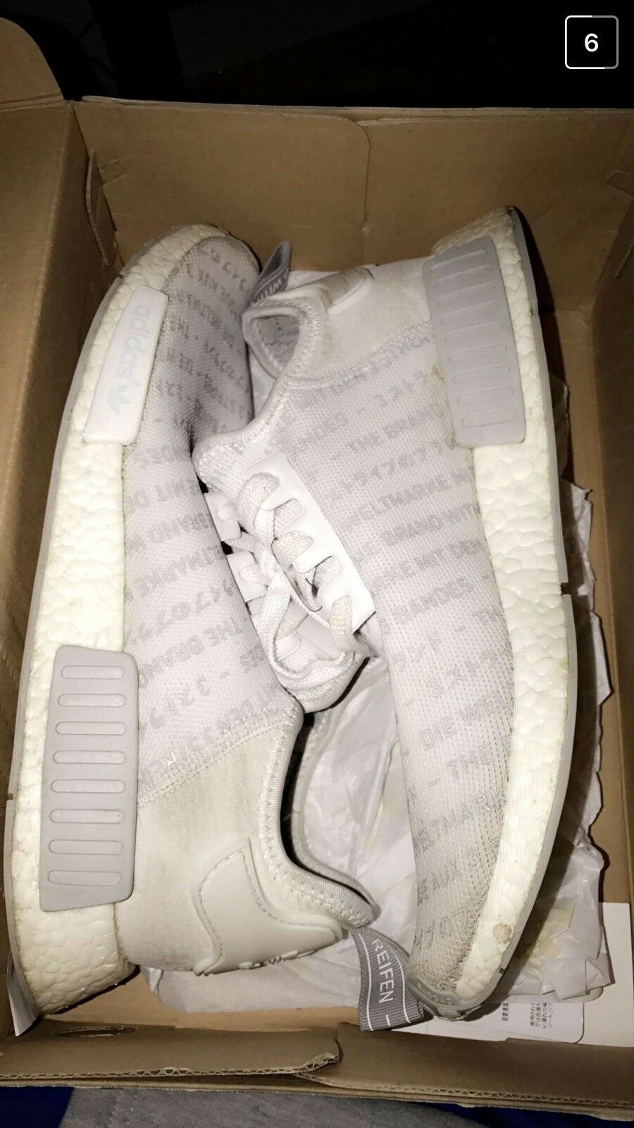 Nmd `The brand of 3 stripes'