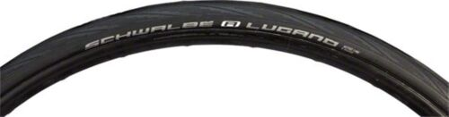 Schwalbe Lugano Road Tire 700x23 Wire Bead Black with K-Guard Protection