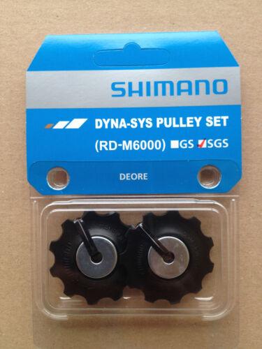 Y3E498020 Shimano Schaltrollen Schaltröllchen Deore RD-M6000 SGS NEU