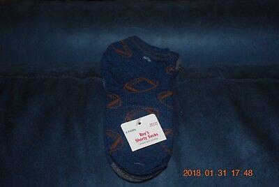 BABY SIZE 0-3 MONTHS GYMBOREE CUTE PINK//BLUE FISH /& STRIPES SOCKS 2 PAIR #5612