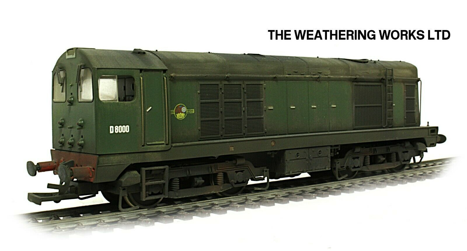 Boxed Bachmann BR Grün Class 20 D8000 PRO WEATHErot LOOK DCC Ready