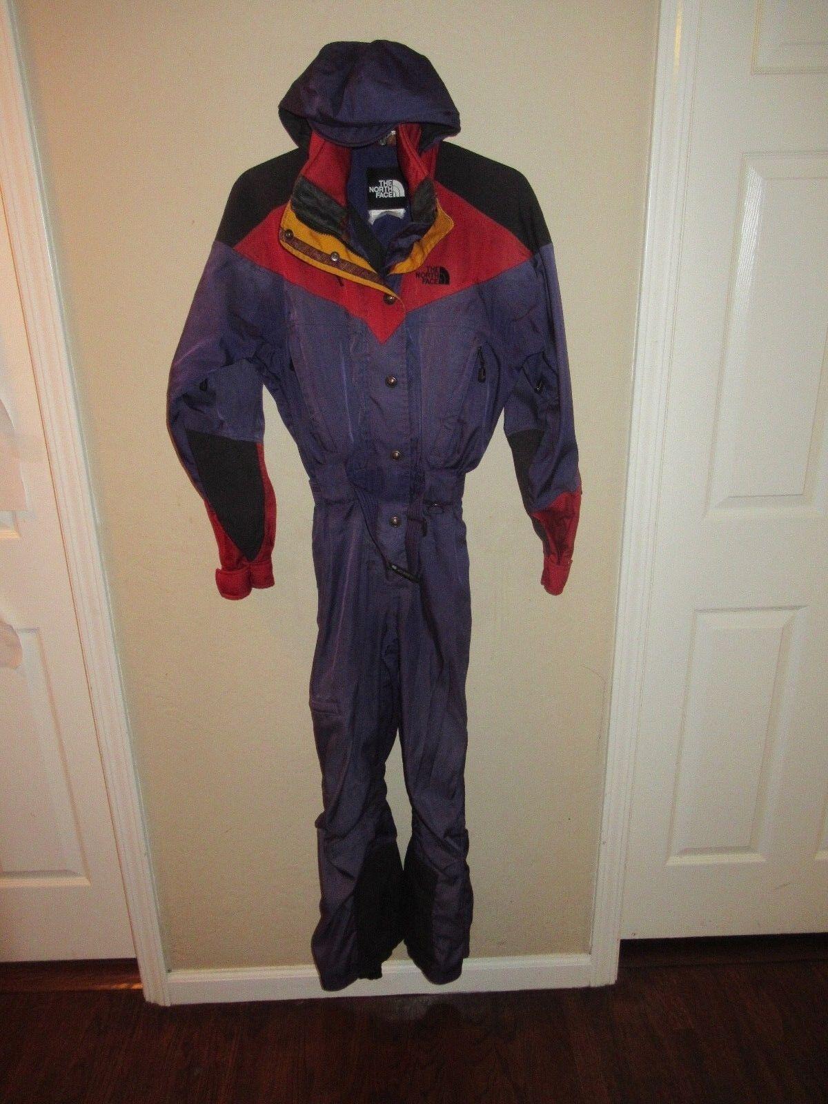 Vintage The North Face Snow Ski Suit Sz 4 Extreme Gear BIB Coat Snowsuit