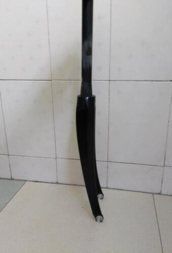 """Full Carbon Road BBicycle  700C  Fork Tapered 1-1//4/"""" 3k weave Glossy Finish"""