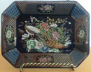 ⭐⭐⭐Piatto KUTANI Vassoio Porcellana Ceramica Oro Design Vintage