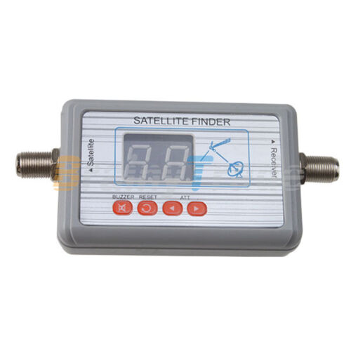 Digital LCD Display Satellite Signal Meter Finder Dish Direc TV