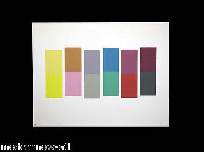 Josef ALBERS Original SILKSCREEN [XXI-1a] LIMITED Ed. ~Modern NOW™ +Custom FRAME