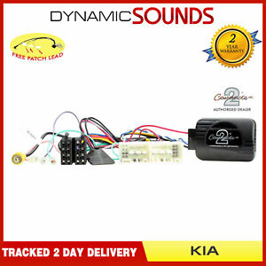Steering Wheel Stalk Control Interface Adaptor Lead for Kia Soul