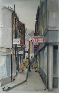 Framed-Print-Albin-Trowski-The-Walk-Rochdale-Picture-Poster-Manchester-Art