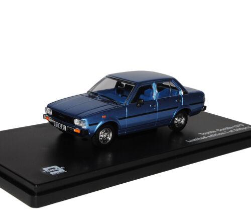 Toyota Corolla E70 Limousine Blau 1979-1983 1//43 J-Collection Modell Auto mit od