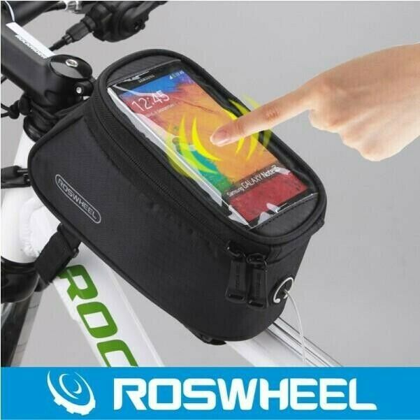 Roswheel Bicycle Pannier – Waterproof Cell Phone Pouch