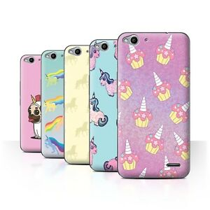 new style dd6af 93bd7 Details about STUFF4 Phone Case/Back Cover for Vodafone Smart Ultra 6  /Fantasy Unicorn