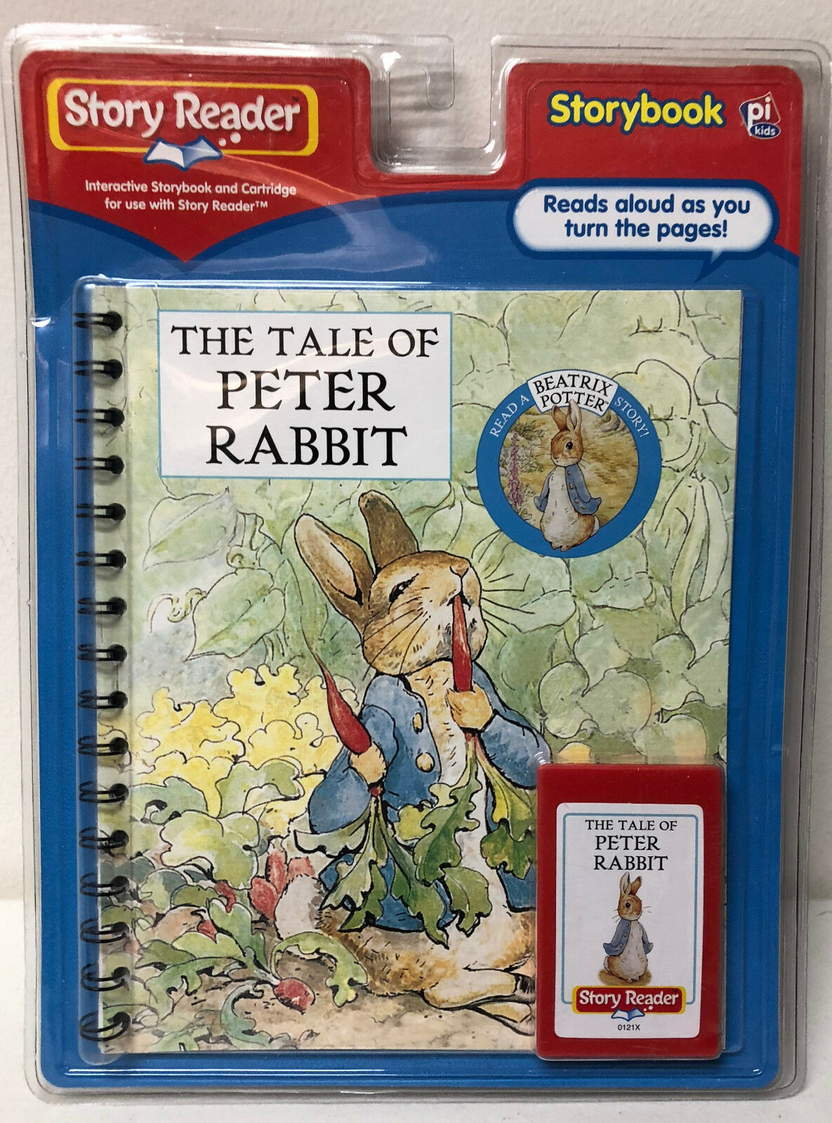 NIP Story Reader The Tale of Peter Rabbit Book & Cartridge Beatrix Potter 2004
