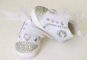 Customised Romany Baby Bling Pram Shoes