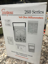 Simpson 260 8 Analog Multimeter With Box Leads Manual