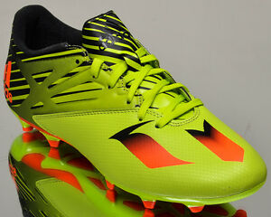 adidas Messi 15 3 FG AG mens soccer shoes cleats NEW lime #2: s l300