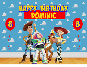 TOY STORY 4 Edible image Birthday Cake topper decoration