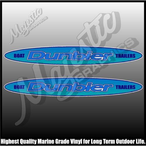 DUNBIER TRAILERS TRAILER DECALS 500mm X 70mm X 2