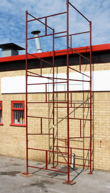 NEW D.I.Y Steel Scaffold Tower Scaffolding Tower 4x4x18'wh HD