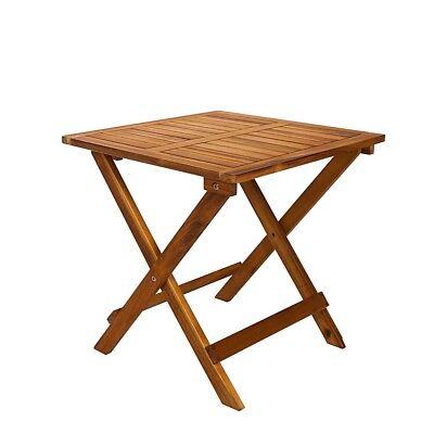 Gartentisch Holz klappbar Klapptisch Tisch Balkontisch Beistelltisch Garten