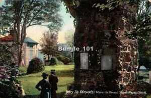 [45520] Bury St. Edmonds Suffolk early postcard c.1907