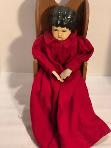 Vintage-China-Head-Doll-18-With-Chair